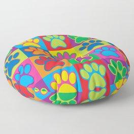 Pop Art Paws Floor Pillow