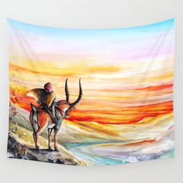 """Sunset"" Wall Tapestry"
