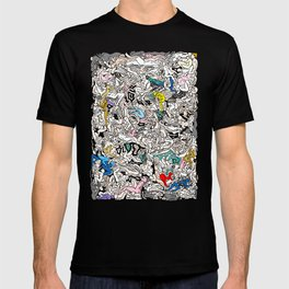 Rainbow LOVE Bodies T-shirt