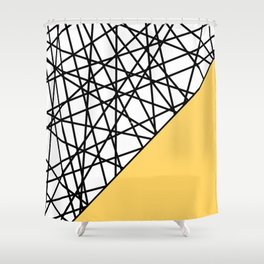 Lazer Dance YY Shower Curtain