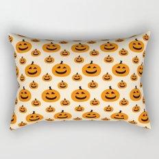 Halloween Pumpkins Rectangular Pillow
