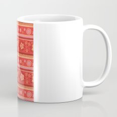 Bright Red Flowers Mug