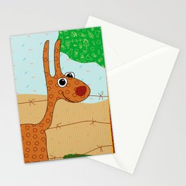 Lunchtime, Yummy Hay! Stationery Cards
