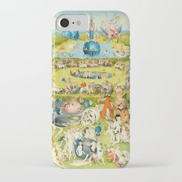 the Garden of Earthly Delights by Bosch iPhone Case