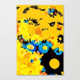 floral 001. Canvas Print