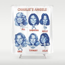 Charlie´s angels Shower Curtain