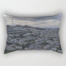 San Francisco - Sutro Tower Chill Rectangular Pillow