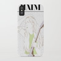haim iPhone & iPod Cases featuring Alana Haim by chazstity