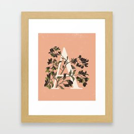 Letter A for Amelanchier Framed Art Print