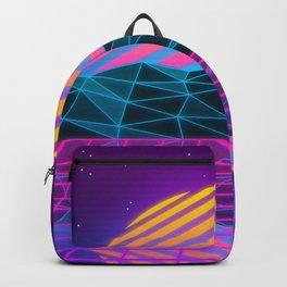 Vaporwave Sunset Backpack