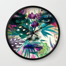 Another Woman Wall Clock