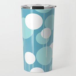 Float - Blue & White Travel Mug