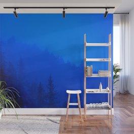 Blue Mist - Kenai Peninsula, Alaska Wall Mural