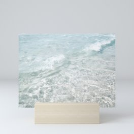Clear Ocean Water Mini Art Print
