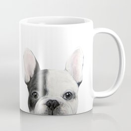 French Bulldog Dog illustration original painting print Coffee Mug