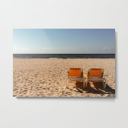 Come Sit With Me Metal Print