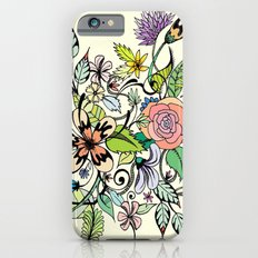 Floral Yellow iPhone 6s Slim Case