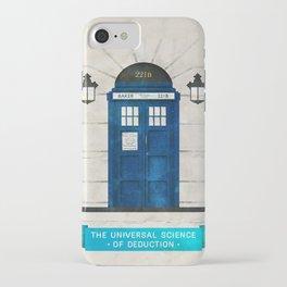 Doctor Who & Sherlock iPhone Case