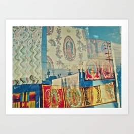 LA Window - Our Lady of Guadalupe Art Print