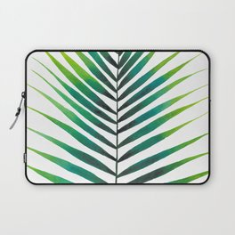 Tropical Palm Leaf #1 | Watercolor Painting Laptop Sleeve