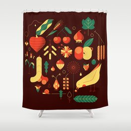 Countrylife #1 — Earth Shower Curtain