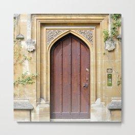Doors Oxford 2 Metal Print