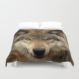 Undivided attention Duvet Cover