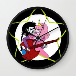 Bubbline Bass Wall Clock
