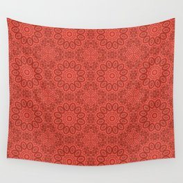 Coral ornament Wall Tapestry