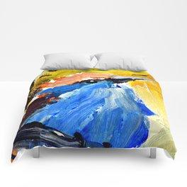 Blue Bird Comforters