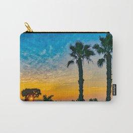 Twin Palm Corona Del Mar Sunrise Carry-All Pouch