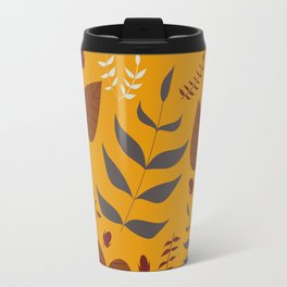 Autumn leafs and acorns Travel Mug
