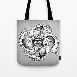 WITHIN THE EYE OF THE STORM Tote Bag