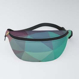 Geometric Low Polly Design Fanny Pack