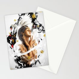 Dancing Swan Stationery Cards