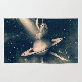 When Saturn Starts Dancing Rug