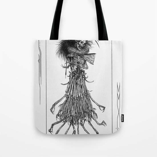 Death Gown Tote Bag