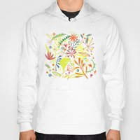 tropical Hoodies featuring Tropical by Nic Squirrell