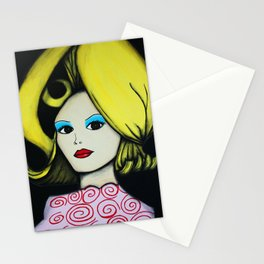 Martian Girl (Mars Attacks!) Stationery Cards