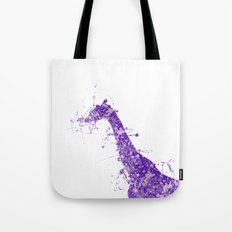 Watercolour Giraffe Tote Bag