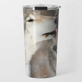 Wolf Kisses Travel Mug
