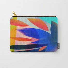 Shapes and Layers no.14 - leaves grid flames sun Carry-All Pouch