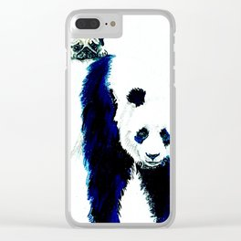 Pug and Panda Clear iPhone Case