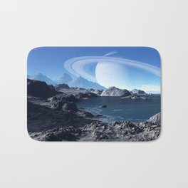 Saturn Bath Mat