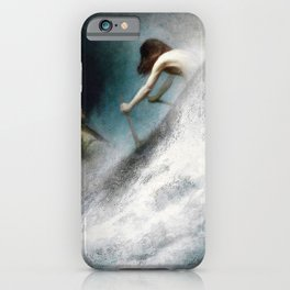 Karl Wilhelm Diefenbach - To The Rescue - Digital Remastered Edition iPhone Case