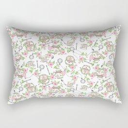 Time for tea Rectangular Pillow