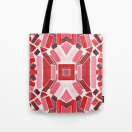 warm color pattern Tote Bag