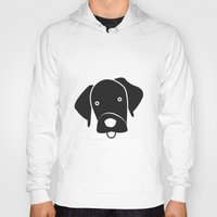 labrador Hoodies featuring Labrador by anabelledubois