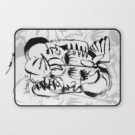Personal Angel - b&w Laptop Sleeve