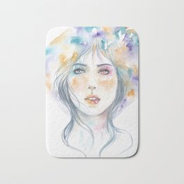 Heterochromatic: Colors In My Mind When I Think Of You Bath Mat